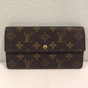 LOUIS VUITTON Vintage Portefeuille Sarah Wallet